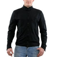MATCHLESS Herren Sweat Jacke BRIGHTON BLOUSON Black 110100