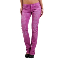 MET Damen Jeans Bull Stretch Body Purple E011444 Größe 29