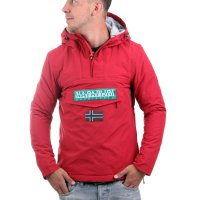 NAPAPIJRI Herren Winter Schlupf Jacke Rainforest Red D0GRR1