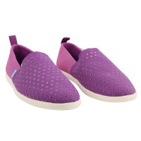 NATIVE Herren Vegane Slipper Sneaker VENICE PURPLE...