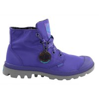 PALLADIUM Damen Schnür Stiefel Boots Pampa Puddle Lite WP Purple/Metal