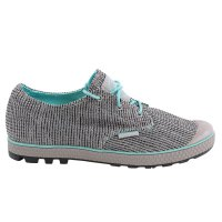 PALLADIUM Damen Sneaker Halb Schuh Slim Oxford II Dove/Pool Blue