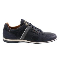 PANTOFOLA D ORO Herren Leder Sneaker LARONE UOMO LOW Dress Blues Größe 41