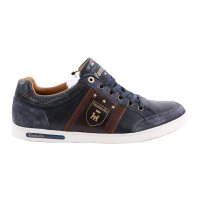 PANTOFOLA D ORO Herren Leder Sneaker MONDOVI UOMO LOW Dress Blues Größe 41
