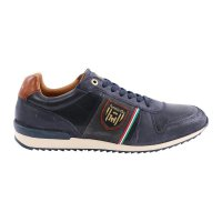 PANTOFOLA D ORO Herren Leder Sneaker UMITO UOMO LOW Dress Blues Größe 41