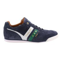 PANTOFOLA D ORO Herren Leder Sneaker VASTO SUEDE UOMO LOW Dress Blues Größe 41