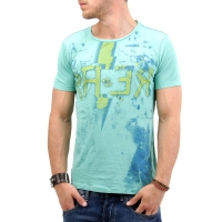 RA-RE Herren T-Shirt Groggy New Jersey Green C0017 S0276