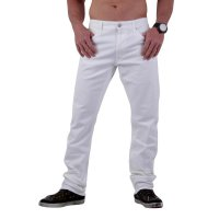 REPLAY Herren Slim Stretch Jeans Hose JETO White M966