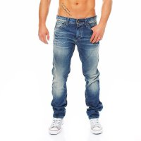 SELECTED Jack & Jones Herren Jeans Hose TWO RICO DECOR 1 Blue 1339