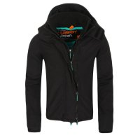 SUPERDRY Damen Windbreaker Funktions Jacke WINDCHEATER ZIP 3 Black Cool Green