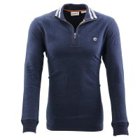 TIMBERLAND Herren CAONOE RIVER 1/2 ZIP Polo Shirt Troyer...