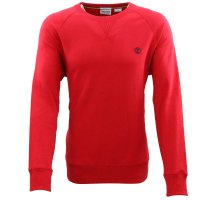 TIMBERLAND Herren EXETER RIVER BASIC Sweat Shirt Rot...