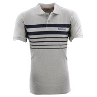 TIMBERLAND Herren Kurzarm Polo Shirt SS POLO Grey Heather...