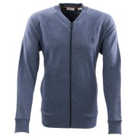 TIMBERLAND Herren MOLLIDGEWOCK BROOK Zip Sweat Shirt Blau...