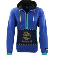 TIMBERLAND Herren OUTDOOR ARCHIVE TECH Sweat Hoodie Half-Zip Bunt-3 A22BZ Größe M