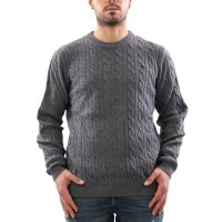 TIMBERLAND Herren PHILLIPS BROOK Zopfmuster Pullover Grey...