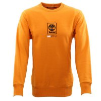 TIMBERLAND Herren PLAY HEAVY ELONGATED Sweat Shirt Orange...