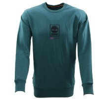 TIMBERLAND Herren PLAY HEAVY ELONGATED Sweat Shirt Petrol Größe M