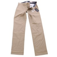 TIMBERLAND Herren Stretch Chino Hose SQUAM LAKE British Khaki Beige A2BZA Größe 32/32