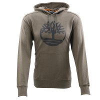 TIMBERLAND Herren YC CORE TREE  HOODIE Sweat Shirt Green A2BJH  Größe M