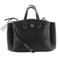 TOMMY HILFIGER Damen Hand Tasche CORE SATCHEL 4 Black 2....