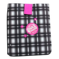 WOW LYCsac Tablet Case Tasche Glam Line Black White