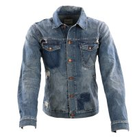 WRANGLER Herren Jeans Jacke REGULAR Blue Shadow W443Y...