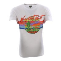 WRANGLER Herren Kurzarm T-Shirt SS OUT WEST TEE Real...