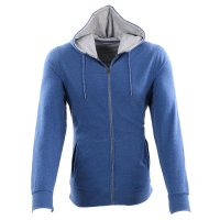 WRANGLER Herren Sweat Jacke HOODIE True Blue W6523...