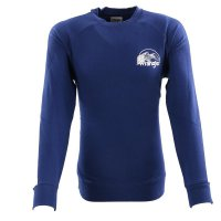 WRANGLER Herren Sweat Pullover CREW GRAPHIC LOGO Blue...