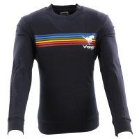 WRANGLER Herren Sweat Pullover EXPLORER SWEAT Dark Navy...