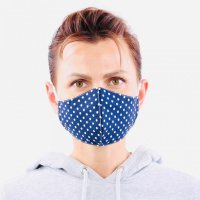 YOU`RE PROTECTED Community Thai Maske 2-Lagig unisex Dot...
