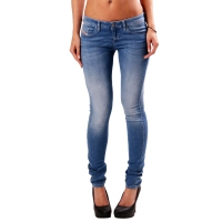 DIESEL Damen SKINZEE LOW Super Slim Skinny Denim Jeans Blue 0839P 2. Wahl