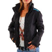 SUPERDRY Damen Sommer Funktions Jacke WINDCHEATER ZIP 2...