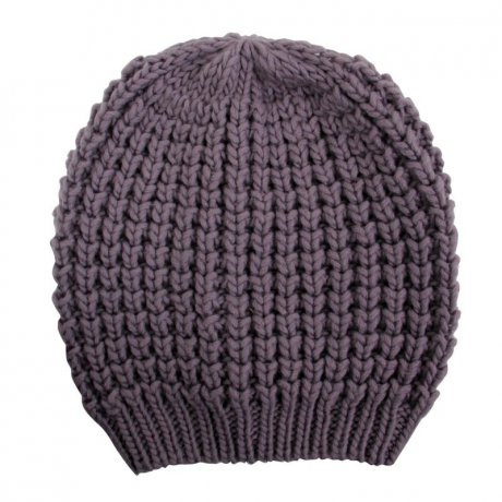 BLAUER USA Damen Strickmütze Long Beanie Purple BLD0419
