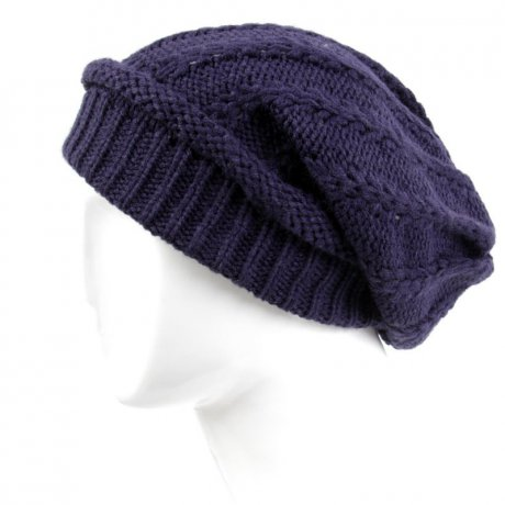 BLAUER USA Strickmütze Long Beanie Navy BLU0502