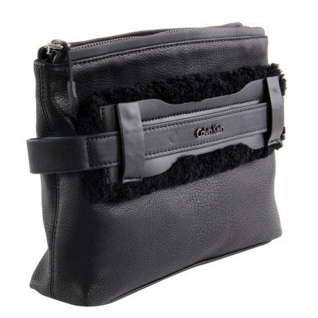 calvin klein damen hand tasche clutch naomi black. Black Bedroom Furniture Sets. Home Design Ideas