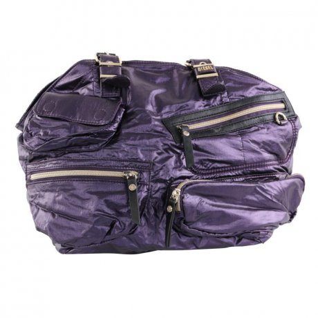 DIESEL Damen Hand Tasche SHEENN ZIP MEDIUM Purple B02353