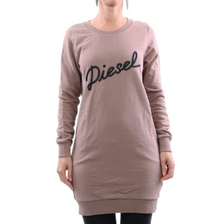 DIESEL Damen Sweat Kleid D-YVONNE DRESS Beige 00S2JE 2....
