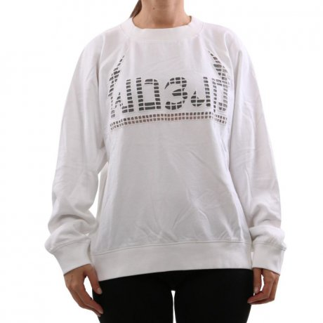 DIESEL Damen Sweat Shirt Pullover F-ROXXY White 00SH7L 2....