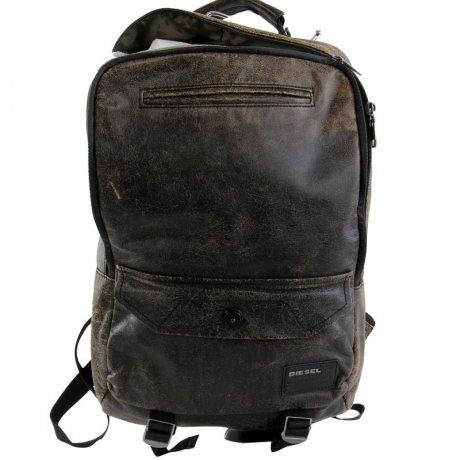 DIESEL Herren Rucksack ALL HANDS UP Antik Black 2. Wahl DI-7
