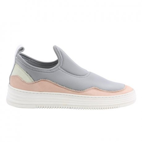 FILLING PIECES Damen High Sneaker Slip on Leder Schuhe...