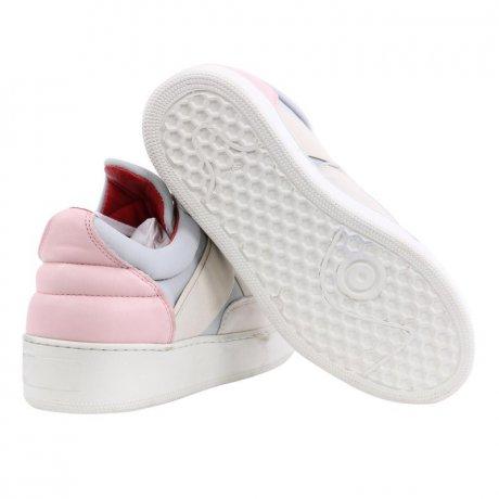 FILLING PIECES Damen Low Top Sneaker Slip on Scuba Schuhe Grey Größe 35