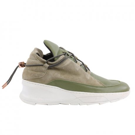 FILLING PIECES Damen Mid Sneaker Slip on Leder Schuhe...