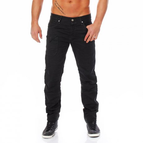JACK & JONES Herren Jeans Hose MIKE DEXTER Black BL2002...