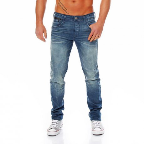 JACK & JONES Herren Jeans Hose Nick Lab Comfort Blue...
