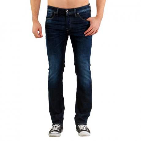 JACK & JONES Herren Regular Jeans Hose CLARK ICON Blue...