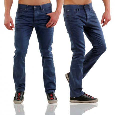 JACK & JONES Herren Regular Stretch Jeans Hose CLARK...