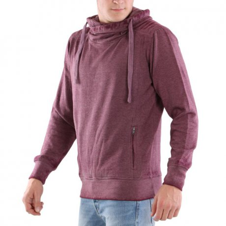 KEY LARGO Herren Sweat Pullover SEATTLE Dark Red 00153...