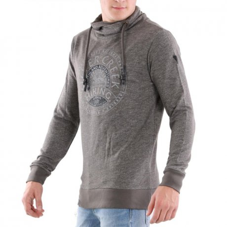 KEY LARGO Herren Sweat Pullover SILVER CREEK Silver...